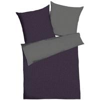 Mako-Satin violett (135x200+80x80cm)