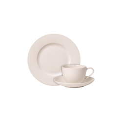 Villeroy & Boch Geschirr-Set For Me Kaffeeservice 12-teilig (12-tlg), Porzellan