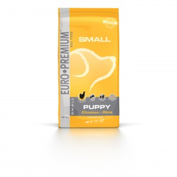 Euro Premium Small Puppy Huhn & Reis Hundefutter 3 kg