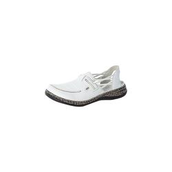 Rieker 102 Offene Halbschuhe Sneaker weiß 37