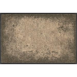 wash+dry Fußmatte, Shades of Brown 50x75 cm, innen und außen, waschbar