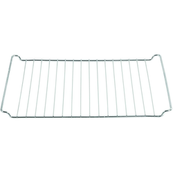 ICQN Backofenrost, Stahl, (1-St), Universal-Backofenrost geeignet für Bauknecht Whirlpool Ikea Ignis 44,5 x 34 cm, Backofengitter, Backgitter Grillrost für Backofen, Verchromt, 445 x 340 mm 44.5 cm x 34 cm