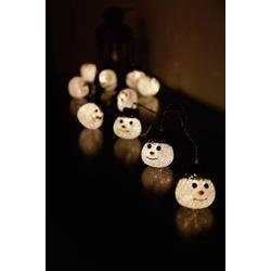Polarlite 679994 Motiv-Lichterkette Schneemänner Außen netzbetrieben Anzahl Leuchtmittel 10 LED Be
