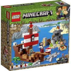 21152 LEGO® MINECRAFT Das Piratenschiff-Abenteuer