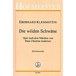Die wilden Schwäne  15 Gesangssolisten  Klavier  Klavierauszug. Eberhard Klemmstein  - Buch