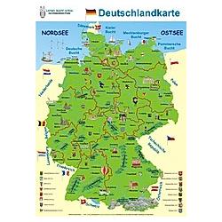 Deutschlandkarte - Buch