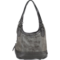 Handtasche Juna Zip Shopper S Handtasche grau
