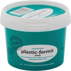 Fermit Dichtungsmasse plastik fermit, weiß, 1 / 4 kg Dose