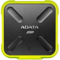 A-Data SD700 256 GB USB 3.0 schwarz/gelb