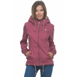 Ragwear Parka DANKA Waterproof Fabric rosa XL (42)