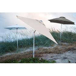 Jan Kurtz Elba / 200 x 150 cm Natur - Sonnenschirm