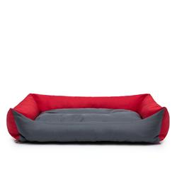 Hobbydog Tierbett Hundebett Eco rot 75 cm x 105 cm