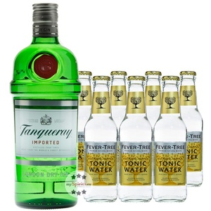 Tanqueray London Dry Gin & Fever-Tree Indian Tonic Set