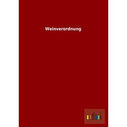 Weinverordnung als Buch von