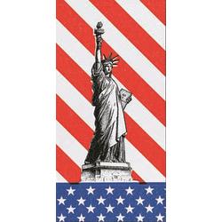 Duni Zelltuch Servietten 40x40 2lg 1/8 USA - 4x300 Stück