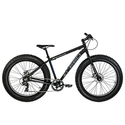 Mountainbike MTB Fatbike Xceed Mountainbikes schwarz Gr. 26