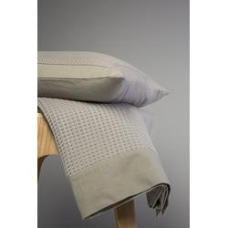 Tagesdecke Klassische Tagesdecke mit schönem Waffelmuster, turiform weiß 220 cm