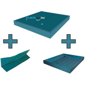 Wasserbett Matratze DUAL Set inkl. Trennw.& Outliner Wasserkern Wasserbetten