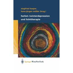 Herbst-/Winterdepression und Lichttherapie: eBook von