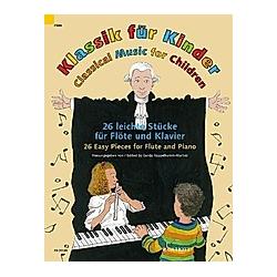 Klassik für Kinder  Flöte und Klavier - Buch