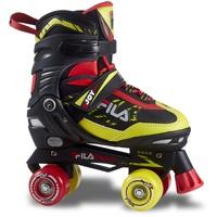 Fila Skates Rollerskate verstellbar schwarz-lime Gr. 39-42