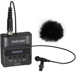 Tascam Mikrofon Tascam DR-10L Recorder + Mikrofon + Windschutz