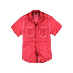 Hemd mit Waschungen Engbers Feuerrot