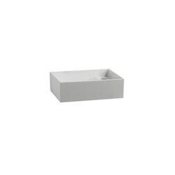 Geberit Gipsfangbecken-Oberteil PUBLICA ohne Überlauf, 780 x 515 x 235 mm weiß
