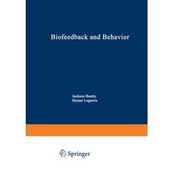 Biofeedback and Behavior als Buch von
