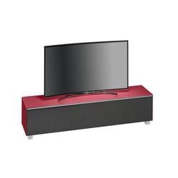 Maja Möbel Lowboard Soundboard 7738, 180 cm rot