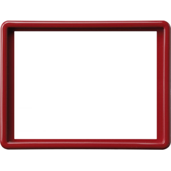 Gira 093443, Abdeckrahmen 2f-Steckd. S-Color Rot