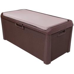 ONDIS24 Auflagenbox Santo Plus, 550 Liter, Kunststoff