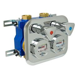 Wasserzähler-Montageblock ZENNER 2'' Komplett-Set 4-teilig - 5 % gespart
