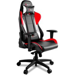Arozzi Verona Pro V2 Schwarz/Rot/Weiß - PU Gaming Stuhl (Gaming Stuhl)