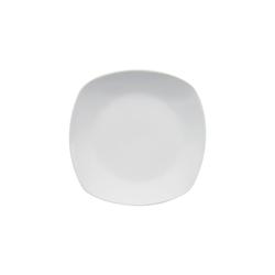 Van Well Dessertteller Lilli in weiß, 19 cm