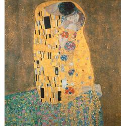 Vliestapete »Klimt - Der Kuss«, Tapeten, 88722921-0 bunt Maße (B/H): (240/260 cm) bunt