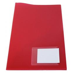 Angebotsmappe Broschürenmappe A4 rot