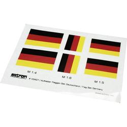 EXTRON Modellbau X3427 Aufkleber Flaggensatz 1 Set