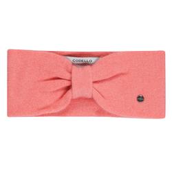 Codello Stirnband, aus reinem Kaschmir orange Damen Stirnband