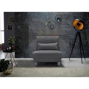 INOSIGN Schlafsofa Gina, mit einem Handgriff vom Sofa zum Bett beige 80 cm x 86 cm x 195 cm