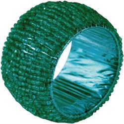 Bestlivings Serviettenring, Glasperlen, (1-tlg), Serviettenring, Handarbeit, Glasperlenring grün