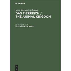 Acarina als Buch von Heinz Wermuth