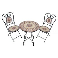 Garden Pleasure Mosaik Set 3-tlg. orange