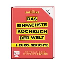 Simplissime - Das einfachste Kochbuch der Welt: 1-Euro-Gerichte
