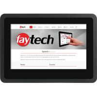Faytech FT07TMBCAP Touchscreen-Monitor 17,8 cm (7 Zoll) 1024 x 600 Pixel Schwarz Multi-touch
