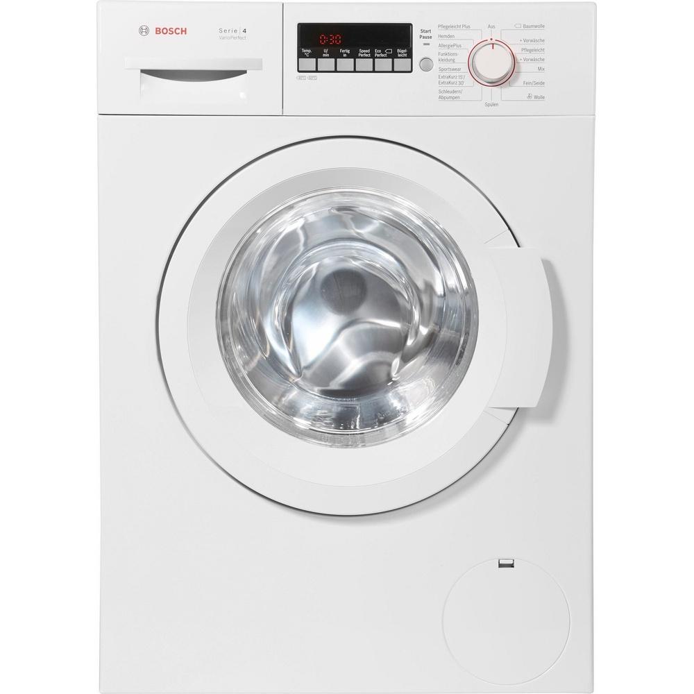 Bosch WAK28248 Serie 4 A+++ 196 kWh//Jahr VarioTrommel 11220 l Waschmaschine 8 kg wei/ß 1400UpM
