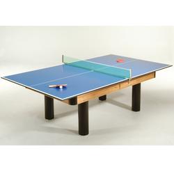 Winsport Tischtennis-Auflage für Billardtisch,blau,274 x 152 cm