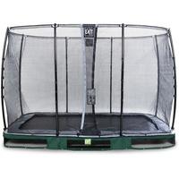 EXIT TOYS Elegant Inground-Trampolin 214 x 366 cm inkl. Economy Sicherheitsnetz grün