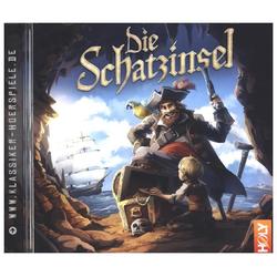 Die Schatzinsel als Hörbuch CD von Carsten Steenbergen/ Robert Louis Stevenson