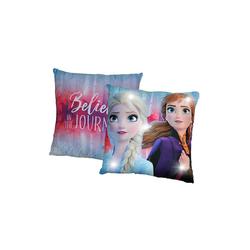 Disney Frozen Dekokissen Die Eiskönigin, Kissen mit LED, 40 x 40 cm
